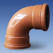 uPVC Rubber Ring / Push Fit Underground Sewer Pipe and Fittings
